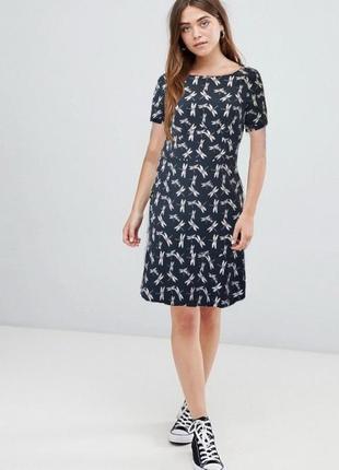 Романтичное платье next 12 стрекоза