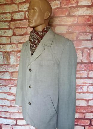 Пиджак жакет винтажный 70-е