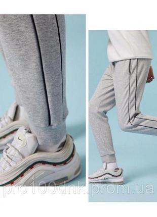Спортивные штаны dnk mafia street серые