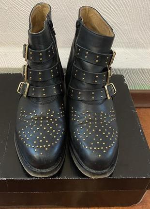 Кожаные ботинки asos