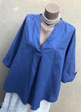 Блуза,рубаха,лен-хлопок,этно бохо стиль,можно беременным