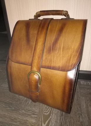 Портфель,кожаный портфель,сумка для документов,сумка для ноутбука