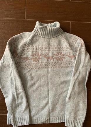 Женский свитер columbia (100% шерсть)