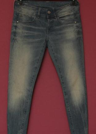 G-star raw рр 28 cropped denin джинсы из хлопка и эластина