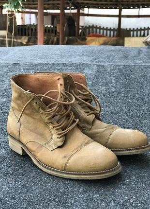 Кожаные брендовые  ботиночки