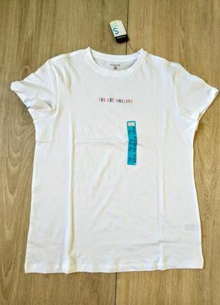 Базовая белая футболка, 46,48,50