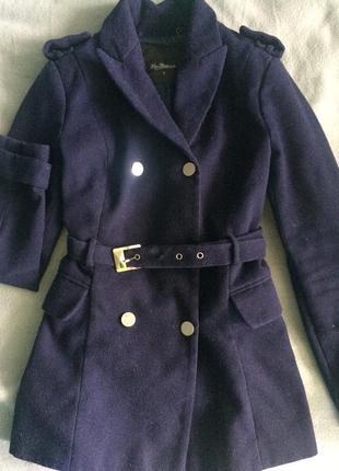 Kira plastinina: пальто/ темно-синее/ на весну