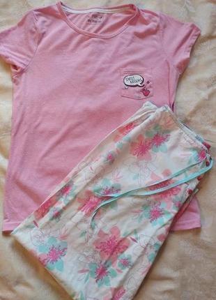 Женский костюм для дома/сна пижама хлопок