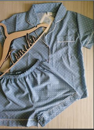 Домашняя одежда, пижама, піжама жіноча на гудзиках