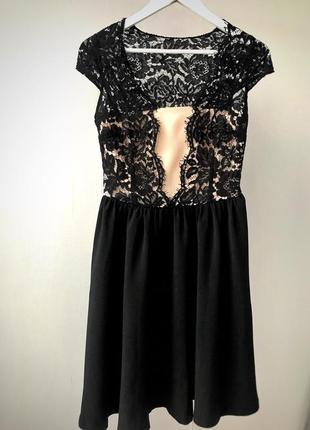 Платье с кружевом befree