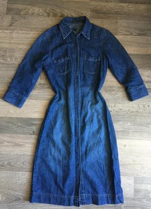 Джинсовое платье джинсова сукня джинсове плаття
