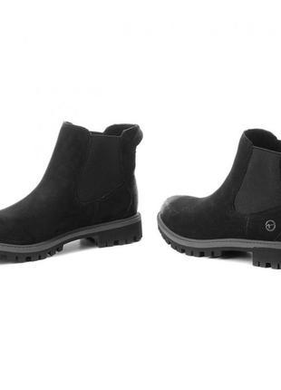 Ботинки челси tamaris  кожа 38 р..25 см