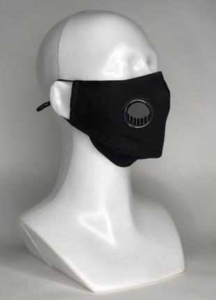 Защитная маска prøf kit с угольными фильтрами. логотип в подарок. есть опт
