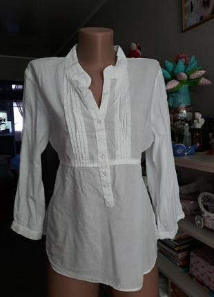 Легкая блузка-рубашка m