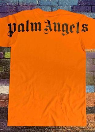 Футболка  palm angels • футболка палм анджелс •ориг бирки