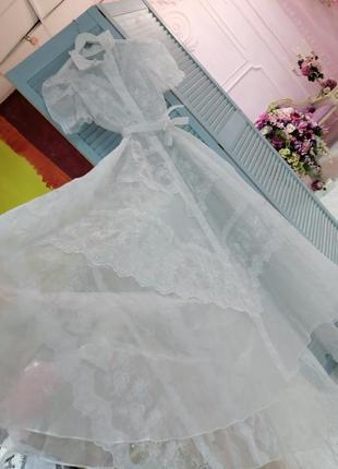 Винтажное платье для фотосессии беременных