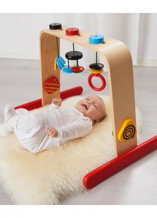 Дуга тренажер для младенцев ikea leka