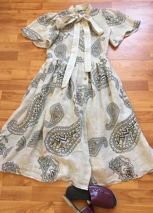 Hermes,оригинал, платье миди