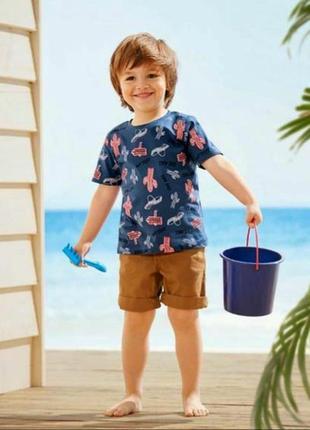 Хлопковая футболка для мальчика lupilu германия