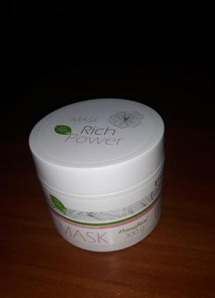 Крем- маска для волос с омега -кислотами