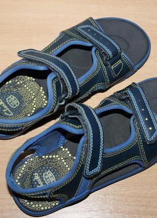 Кожаные босоножки сандалии clarks разм 30