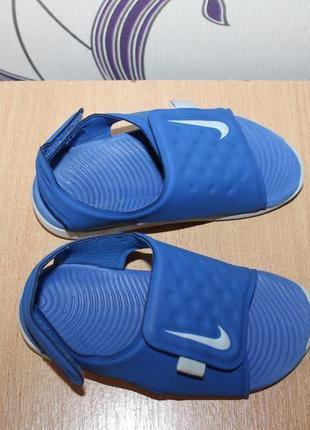 Босоножки сандалии nike sunray adjust