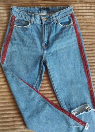 Класні джинси з лампасами