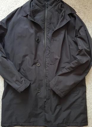 Мужское пальто плащ