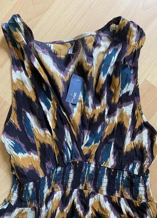 Красивое котоновое платье батал marks & spenser