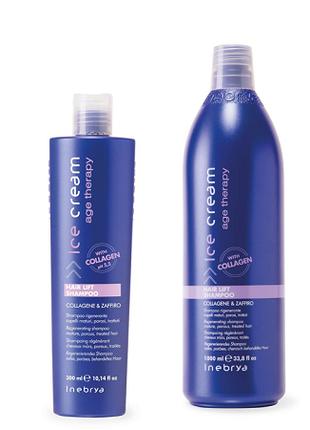 Шампунь для зрелых и пористых волос