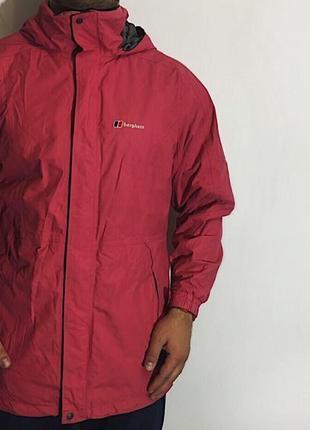 Мужская демисезонная куртка на мембране berghaus ( бергхаус хлрр)
