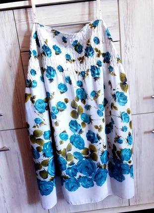 Невесомый шифоновый/пляжный сарафан на регулирующих бретелях t.a.t.u collection fashion.