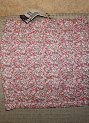 Новая трикотажная юбка л, хл от basic