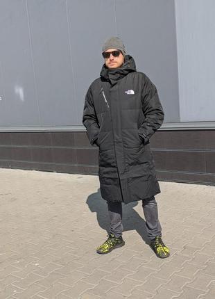 Мужское пуховое молодёжное пальто the north face  dryvent
