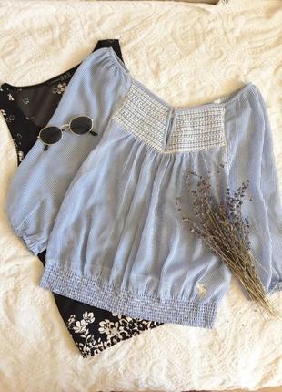 Летящая блуза на лето