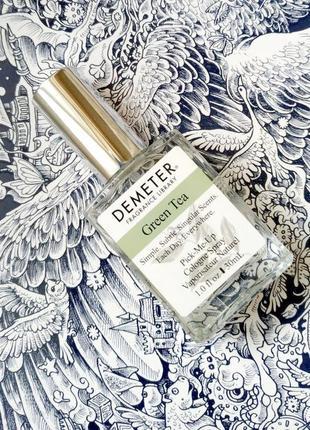 Demeter green tea, деметер зеленый чай