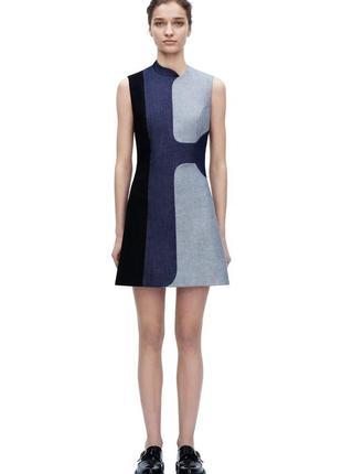 Victoria beckham jeans платье деним