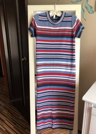 Новое платье футболка  миди от asos