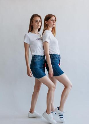 Джинсова юбка 100% котон, всі розміри. виробник туреччина