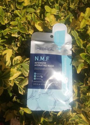 Увлажняющая тканевая маска mediheal n.m.f intensive hydrating mask