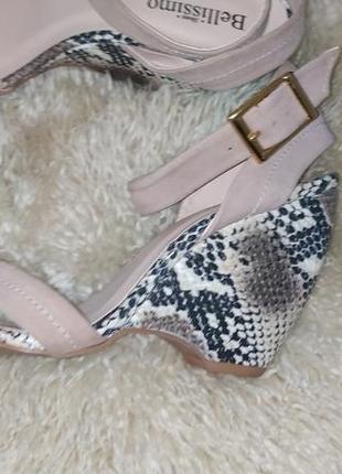Bellissimo shoes  босоніжки шкіряні