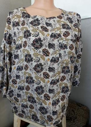 Блуза с цветочным принтом yessica