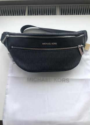 Сумка на пояс бананка michael kors kenly md waist pack xbody оригинал1 фото