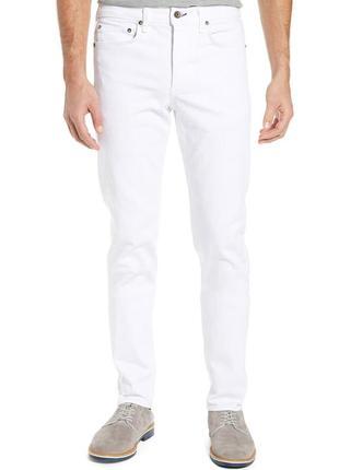 Мужские белые джинсы pierre cardin