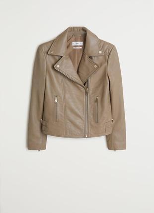 Куртка - косуха кожаная  mango р. m (38)
