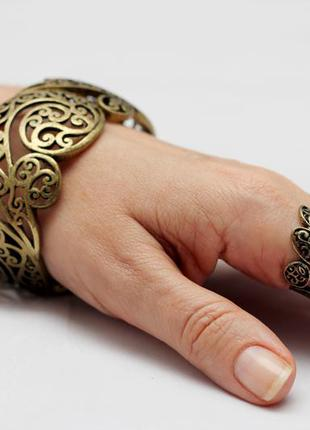 Набор украшений bijou brigitte , кольцо + браслет