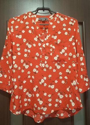 Стильная блузочка в цветочек