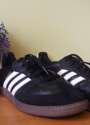 Кожаные женские кроссовки adidas