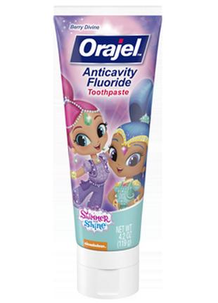 Orajel, детская зубная паста-гель, 119 г.