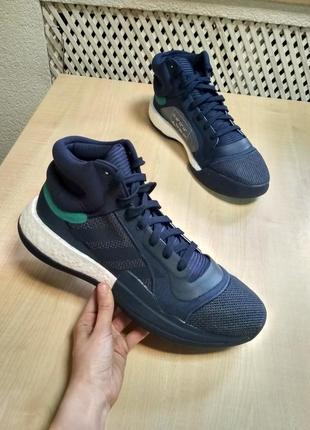 Волейбольные кроссовки adidas marquee boost blue (d96944) оригинал